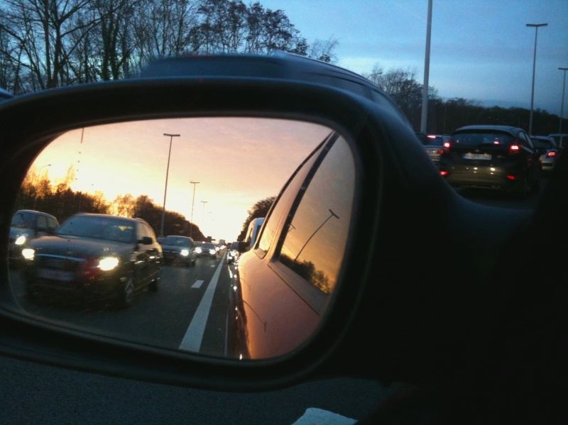 rear view mirror car