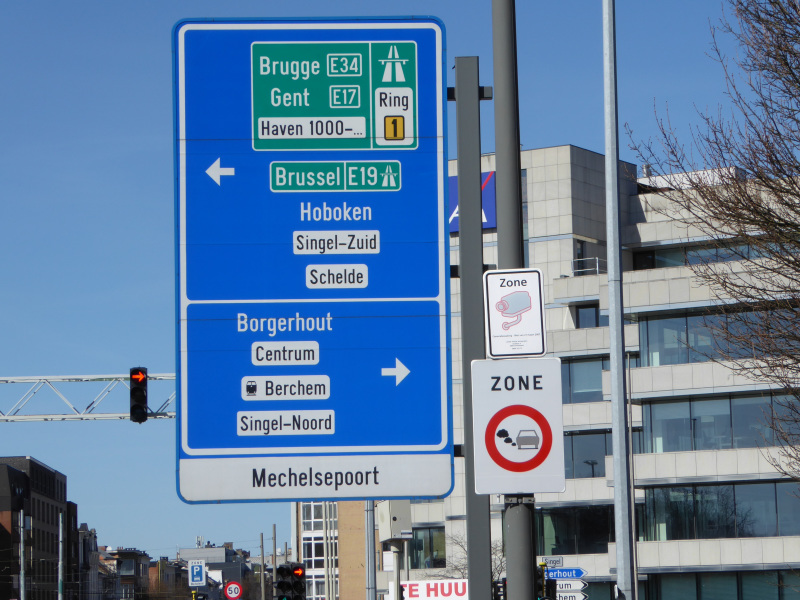low emission zone Antwerp